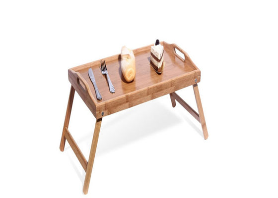 Good Quality Bamboo Kitchen Supplies & Rectangular Extra Large Organic Bamboo Serving Tray with Legs on sale