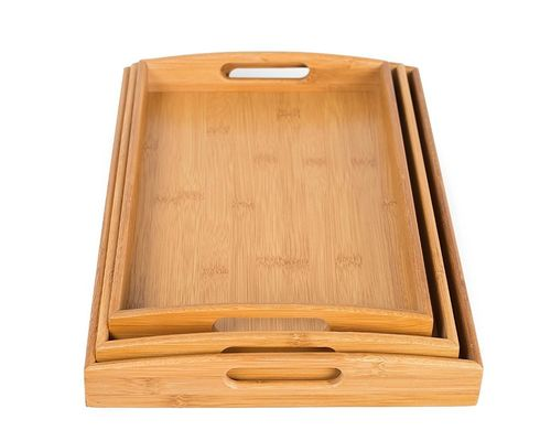Good Quality Bamboo Kitchen Supplies & trending product of food serving tray serving tray handles on sale