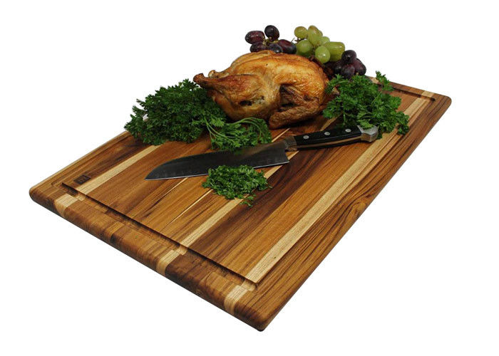 Popular Antimicrobial Bamboo Cutting Block , Oak Cutting Board For Kitchen